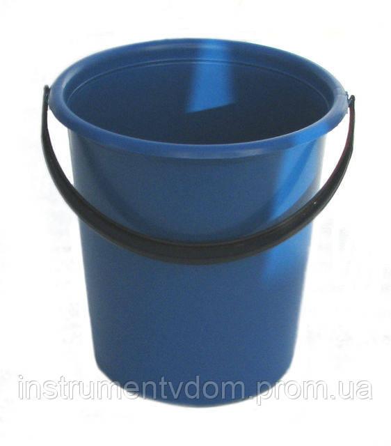 Ведро пластиковое цветное (7 л)