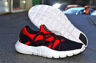 Кроссовки Nike Хуараче , черно-красные, магазин обуви, фото 2