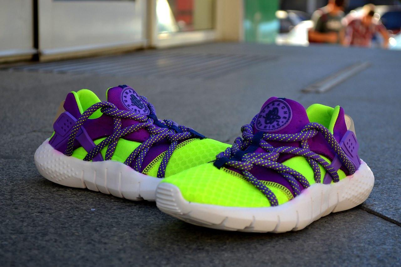 Кроссовки Nike Хуараче ,цветные, магазин обуви