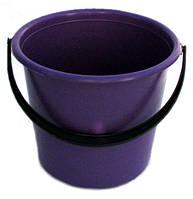Ведро пластиковое цветное (5 л)