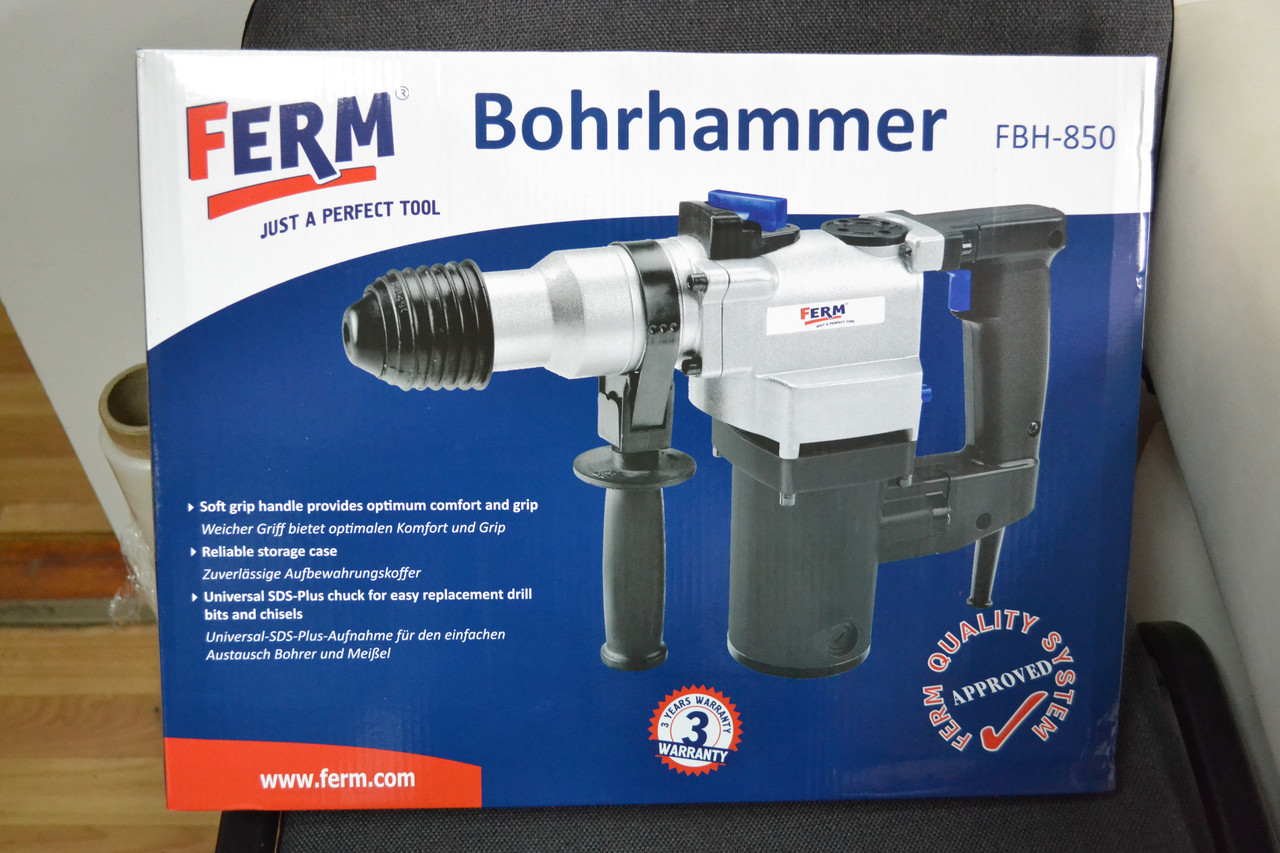 Перфоратор Ferm FBH-850, фото 1