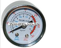 Манометр для компрессора металлческий малый запчасти