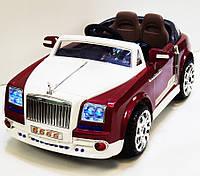 Детский электромобиль Rolls-Royce Ghost 9666: 2x35W, 7 км/ч, MP3 - RED- купить оптом, фото 1
