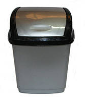 """Ведро для мусора пластиковое """"Домик"""" (1,7 л)"""