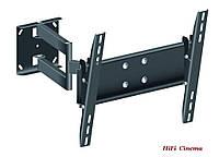 Настенное крепление KSL WM448T turn наклонное поворотное для ТВ до 40 кг
