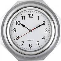 Часы настенные серые