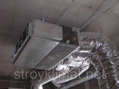 Монтаж канальных кондиционеров с подмесом свежего воздуха.Киев и область.