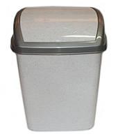 """Ведро для мусора пластиковое """"Домик"""" (9 л)"""