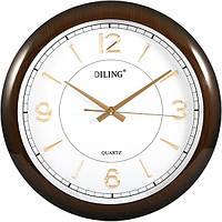 Часы настенные Diling золотые цифры