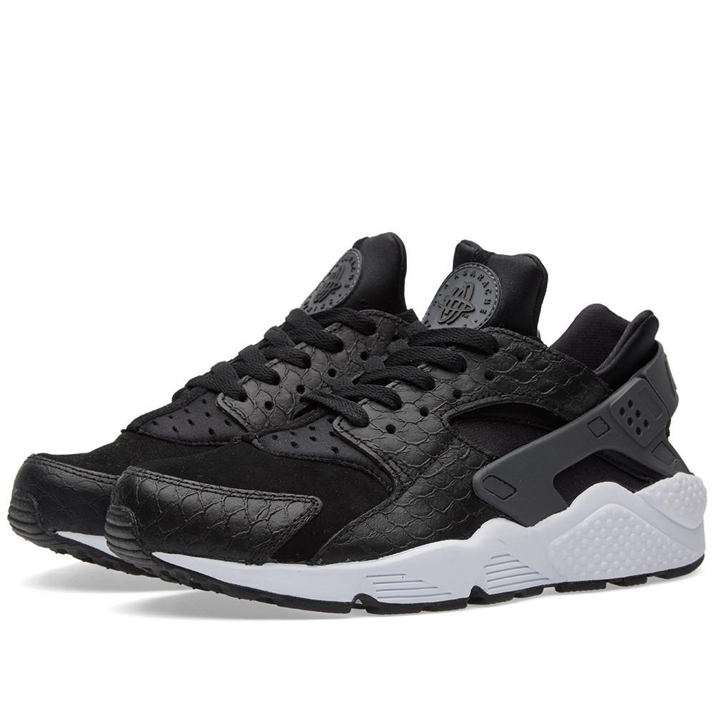 3705770ad037 Оригинальные кроссовки Nike Air Huarache Run Premium Black, Dark Grey