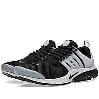 Оригинальные  кроссовки Nike Air Presto Black, White & Neutral Grey