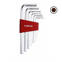Набор ключей 6-гр. (HEX) Г-обр. 7 пр. (1.5-6 мм) FORCE 5076