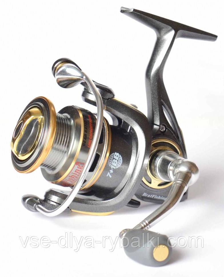 Катушка Bratfishing Golden lion 3000 5+1