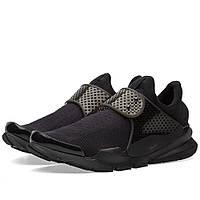 Оригинальные  кроссовки Nike Sock Dart Black & Black Volt