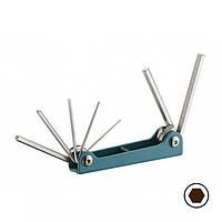Набор ключей 6-гр. (складной) 7 пр. (1.5-6 мм) FORCE 5076F