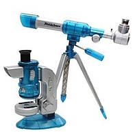 Микроскоп + астрономический телескоп