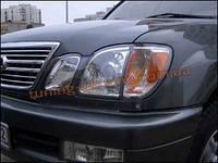 Защита фар Sim для Lexus LX 1998-07 прозрачная