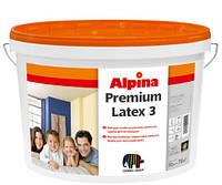 Alpina Premiumlatex 3 B1 10 л E.L.F. Матовая, стойкая латексная краска
