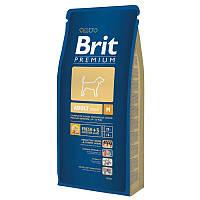 Корм Brit Premium Adult M для взрослых собак средних пород. Упаковка 15 кг