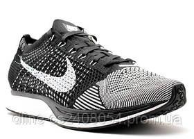 Мужские кроссовки Nike Flyknit Racer Black/White
