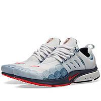 Оригинальные  кроссовки Nike Air Presto GPX Neutral Grey & Comet Red