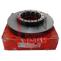 Диск тормозной задний CANTER FUSO FE85D (MK374048/MK584504) TRW
