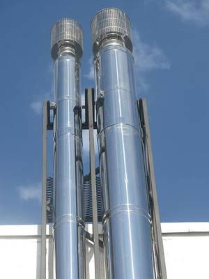 Системы дымоходов и газоходов