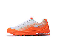 Женские кроссовки Nike Air Max 95 Invigor white-orange, фото 1