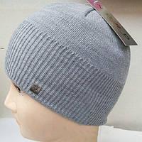 Зимняя шапка Nord roma светло-серого цвета