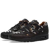 Оригинальные  кроссовки Nike x Pendleton Air Max 1 QS Black & Ale Brown