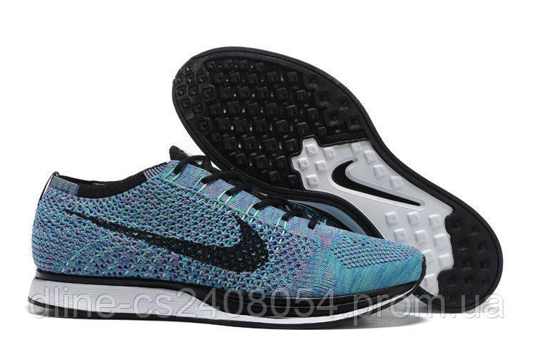 Mужские кроссовки Nike Flyknit Racer MultiColor