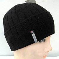 Черная классическая шапка