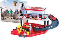 Игровой набор ГАРАЖ FERRARI 2 уровня, 1 машинка 1:43 Bburago (18-31231)