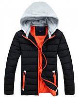 Теплая мужская куртка с капюшоном