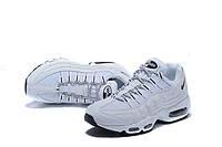 Женские кроссовки Nike Air Max 95 белые, фото 1