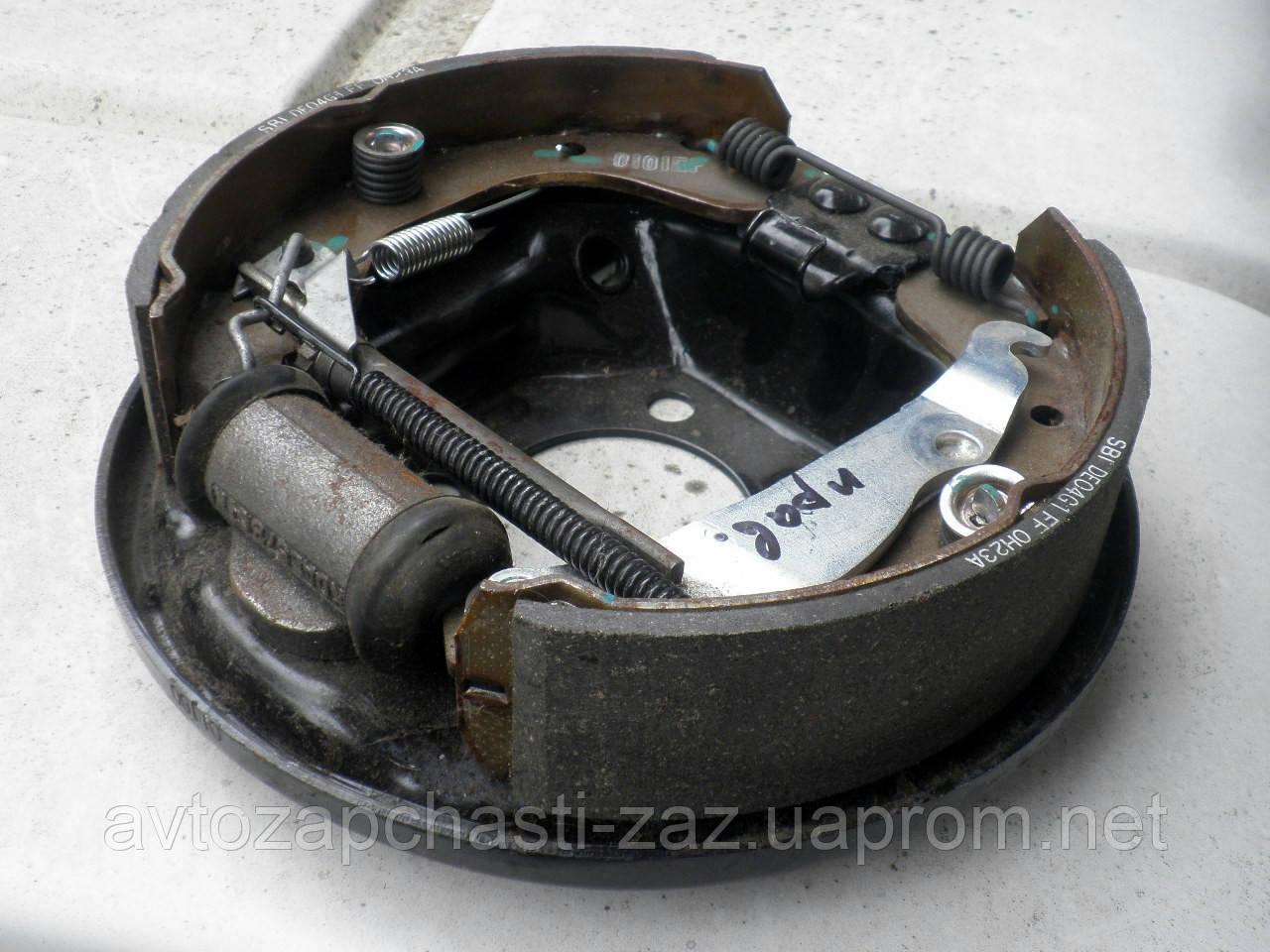 Щит заднего тормоза DAC 96430413 Lanos / Гальмо заднього колеса / Тормоз задний на Ланос 96430414 DAC, Корея