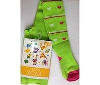 Детские демисезонные колготки Легка Хода (зеленый)