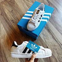 Женские кеды кроссовки белые адидас суперстар / Adidas Superstar Originals,41h