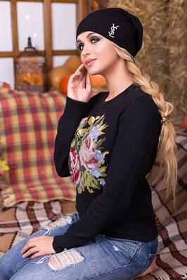 Классическая женская шапка