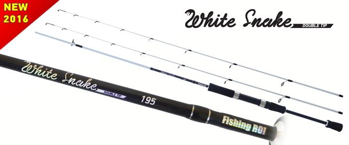 Спінінг Fishing ROI White Snake 1st tip 1-7g 2nd tip 12g 1.95 m