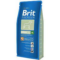 Корм Brit Premium Junior XL для щенков и молодых собак гигантских пород. Упаковка 15 кг