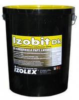 Битумно-каучуковая мастика на основе из органических растворителей Izodit DK 19 кг