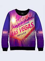 Світшот 3D Лас Вегас / свитшот