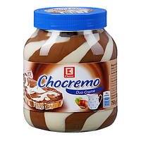 Шоколадно - ореховая паста Chocremo Duo Cream 750гр. (Германия)