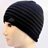 Качественная темно-серая шапка