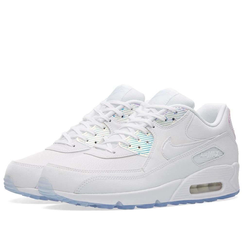 wholesale dealer cd344 1ebb1 Оригинальные кроссовки Nike W Air Max 90 Premium White   Blue Tint -  Sport-Sneakers