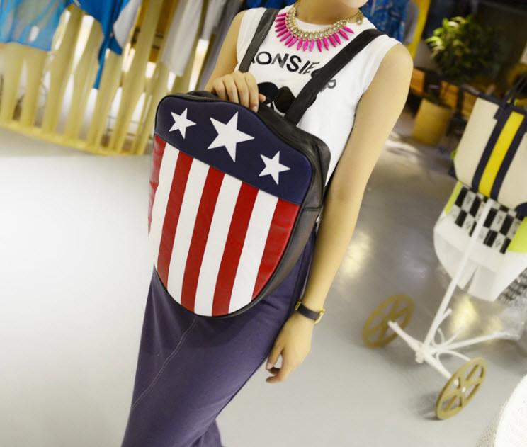 Распродажа Рюкзак Щит флаг США \ Америка