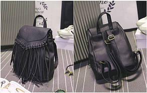 Модный городской рюкзак с бахромой, фото 3