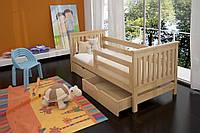 Кровать детская Адель массив ольха
