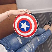 Компактная сумка Щит Капитана Америки/первого мстителя, фото 3